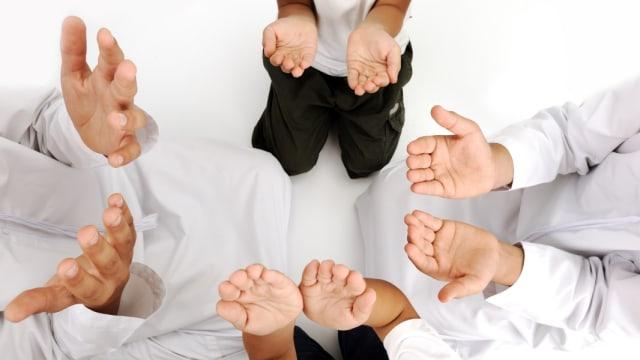 Ilustrai doa bersama