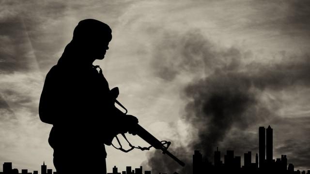 Ilustrasi Teroris.