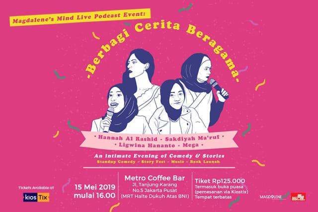 Stand up comedy 'Berbagi Cerita Beragama'