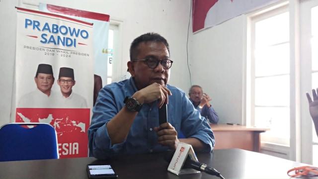 Ketua Seknas Prabowo-Sandi, M. Taufik