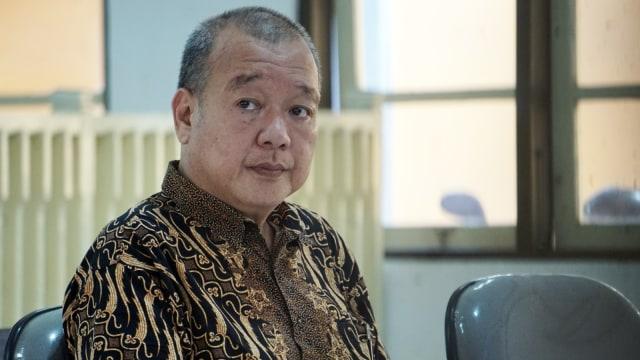 Johar Lin Eng menjalani sidang perdana kasus mafia bola di Pengadilan Negeri Banjarnegara
