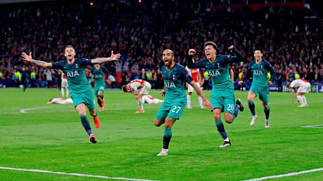 Liga Champions, Ajax Amsterdam, Tottenham Hotspur