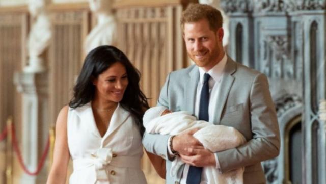 Pangeran Harry, Meghan Markle dan Archie Harrison