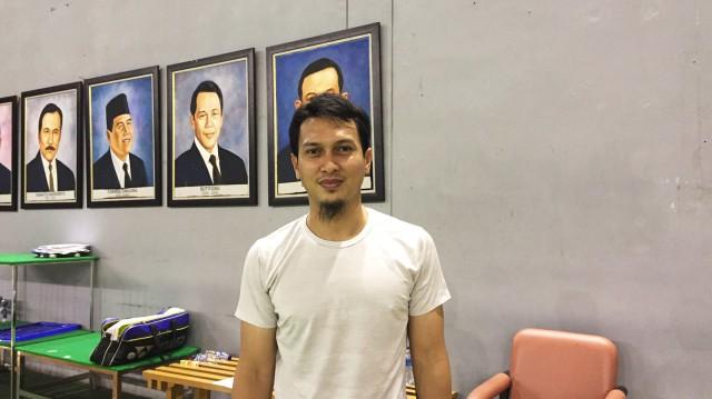 Pebulu tangkis spesialis ganda putra, Mohammad Ahsan