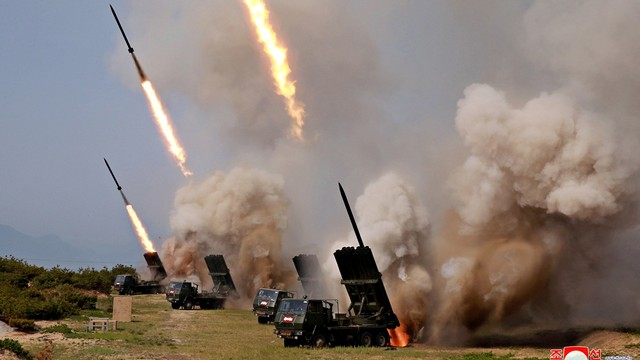 Korea Utara, Uji Coba, Rudal