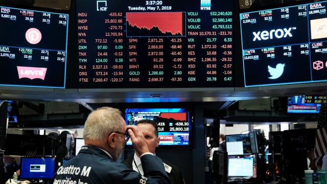 Wall Street Ditutup Melemah, Investor Bimbang Penantian Vaksin (662217)