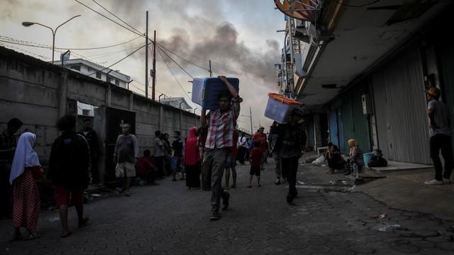 Kebakaran Kampung Bandan, Jakarta Utara