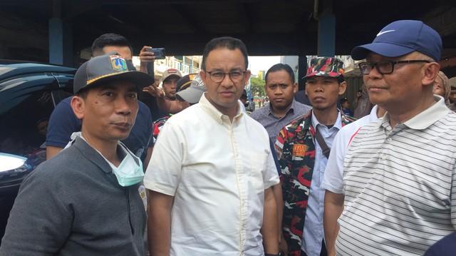 Anies Baswedan, Kebakaran di Kampung Bandan