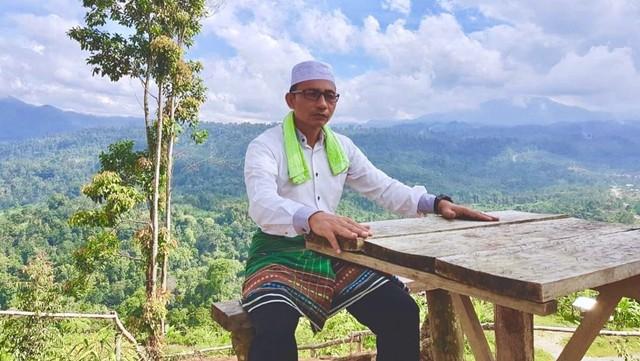 Caleg DPD RI asal Aceh, Sudirman, komedian 'Haji Uma'