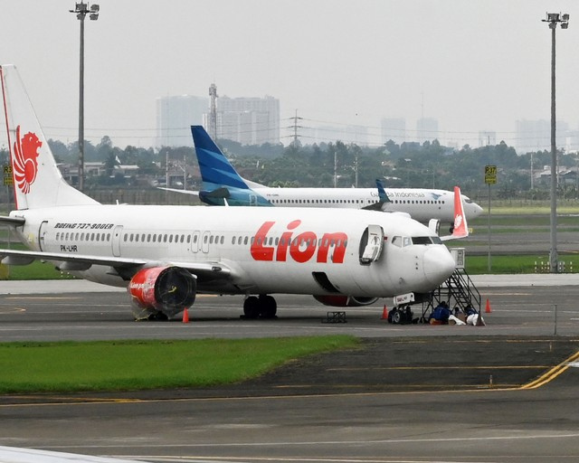 Pesawat Lion Air (NOT COVER)