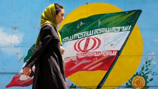 Ilustrasi wanita Iran