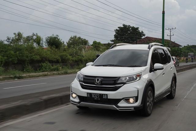 Test Drive New Honda BR-V