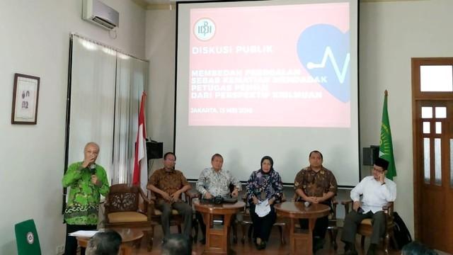 Diskusi soal Penyebab Kematian Petugas KPPS Pemilu 2019