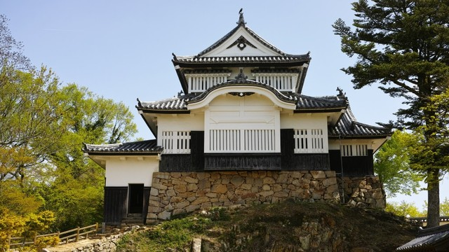 Kuil Bitchu Matsuyama di Takahshi, Jepang