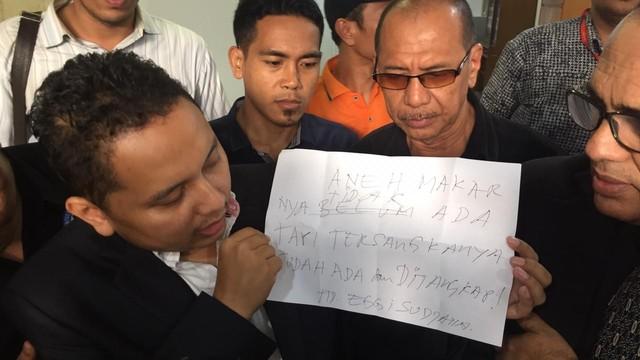 Pengacara Eggi Sudjana, Pitra Romadoni di Direktorat Reserse Kriminal Umum Polda Metro Jaya