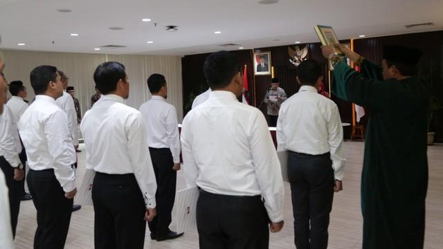 LIPSUS, Gejolak Senyap KPK, Suasana pelantikan 21 penyidik muda KPK