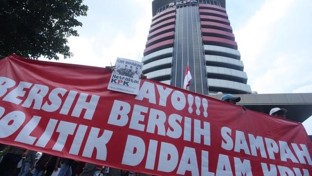 LIPSUS, Gejolak Senyap KPK, Cover