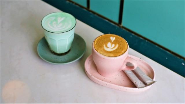 Aneka minuman di Jeeva Coffee Yogyakarta