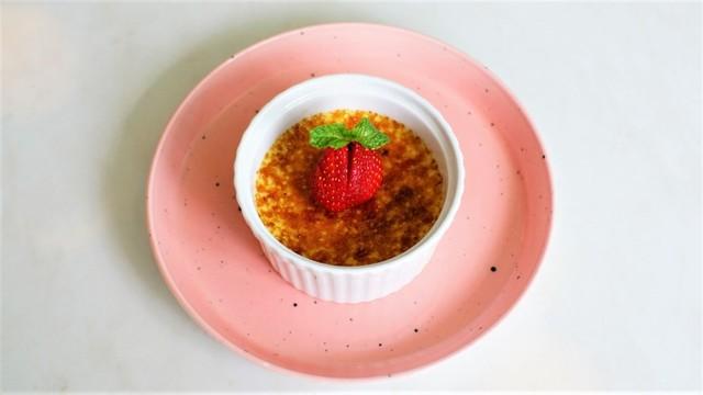 Classic creme brulee di Jeeva Coffee Yogyakarta