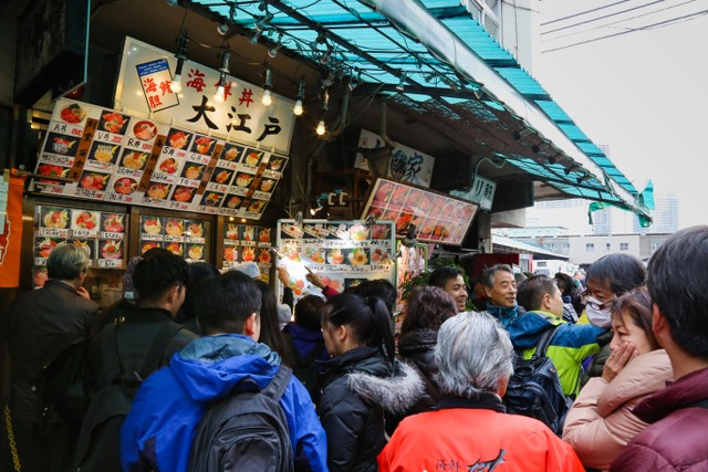 Ramainya Antrean Street Food di Jepang