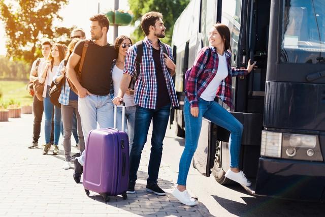 Kehabisan Tiket Kereta Di Traveloka Ada Tiket Bus Mudik