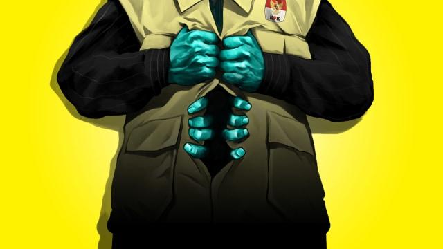 LIPSUS, Pertarungan Penyidik KPK, cover