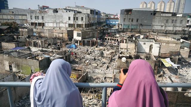 Warga Korban Kebakaran Kampung Bandan Tolak Rencana Anies Bangun Rusun (19912)