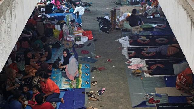 Pengungsian, Korban Kebakaran, Kampung Bandan