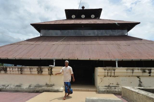 Masjid Tertua,Masjid Teungku Di Anjong, Aceh