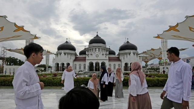 Masjid Tertua, masjid Raya Baiturrahman Aceh