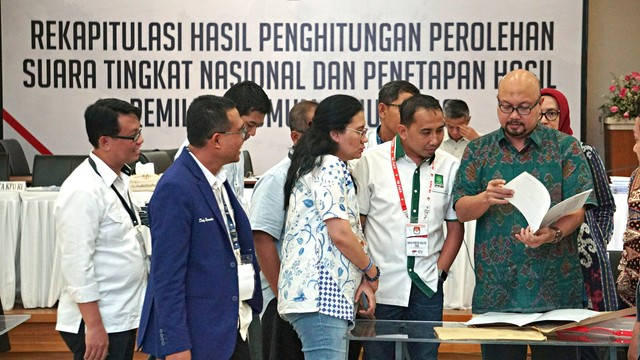 Rekapitulasi, Provinsi Jawa Tengah, Pemilu 2019