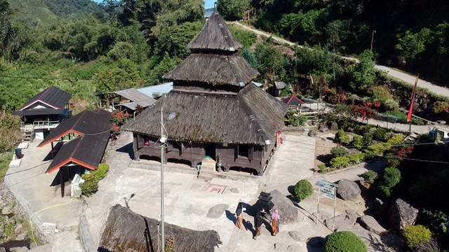 Masjid Tertua, Masjid Kayu Jao, Sumatera Barat
