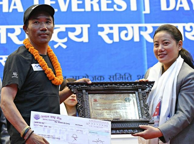 (NOT COVER) Pendaki Nepal, Kami Rita, Gunung Everest