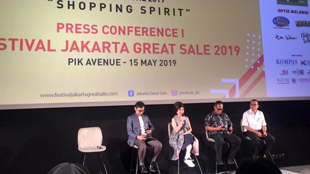 Press Conference Festival Jakarta Great Sale 2019