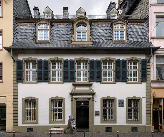Rumah Karl Marx di Trier, Jerman yang dijadikan sebagai museum