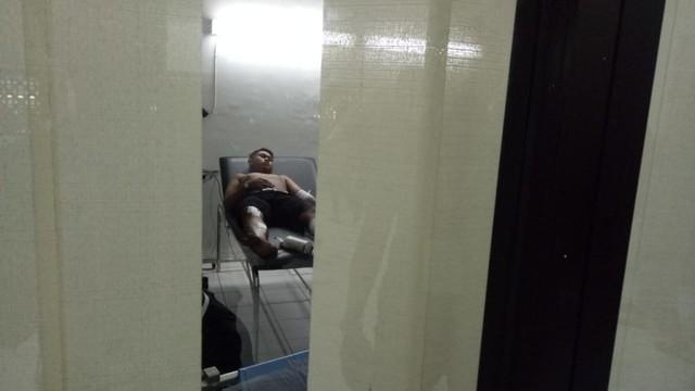 Kondisi di ruang medis Stadion Maguwoharjo