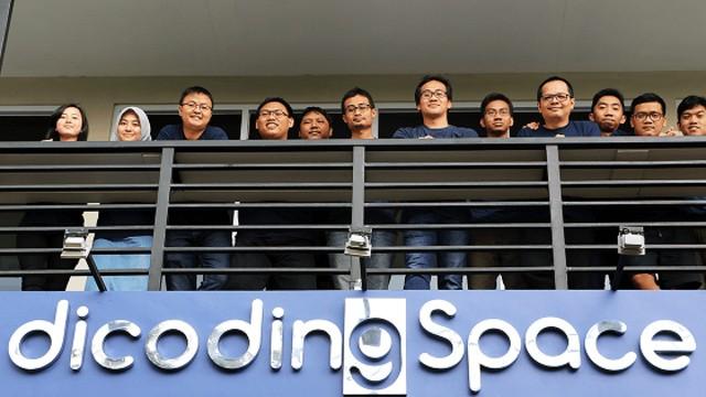 Tim Dicoding di kantor pusatnya yang berlokasi di Bandung