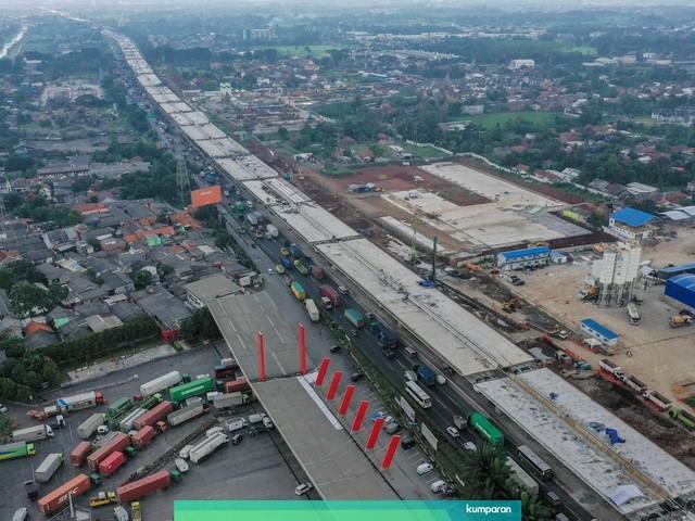 Tarif Tol Jakarta - Cikampek Layang Rencananya Dipatok Rp 1.250 per Km (76958)
