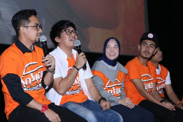 Grup Sabyan Gambus main film 'Sabyan Mengejar Mimpi'