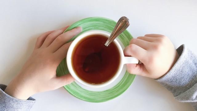 teh hangat