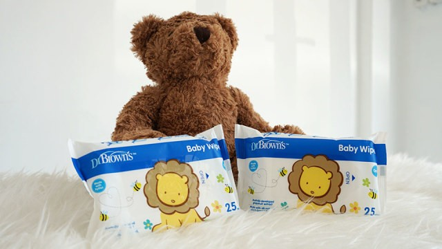 Babyo Review Dr. Brown's Baby Wipes (153553)