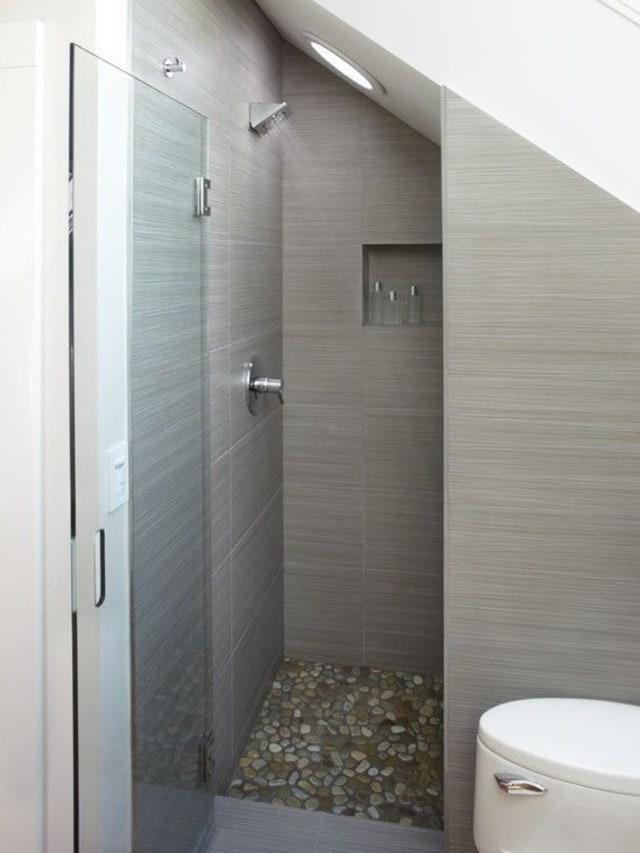 Inspirasi Desain Kamar Mandi Dengan Shower Di Lahan Sempit