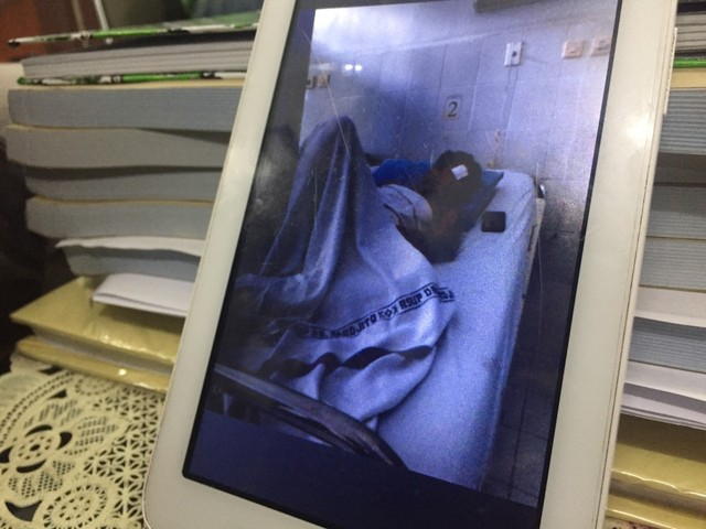 Foto kondisi Anggriyanto Faisal, punggawa PSS Sleman U-16