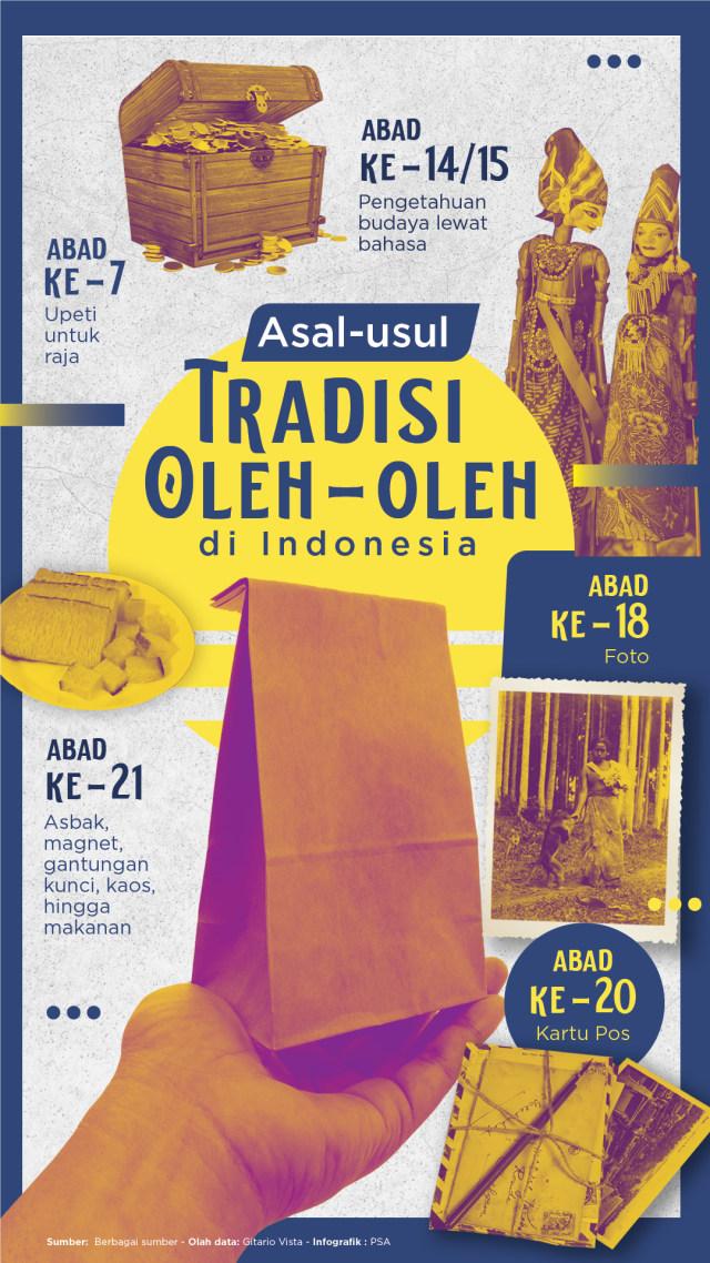 Asal-usul Tradisi Oleh-oleh di Indonesia