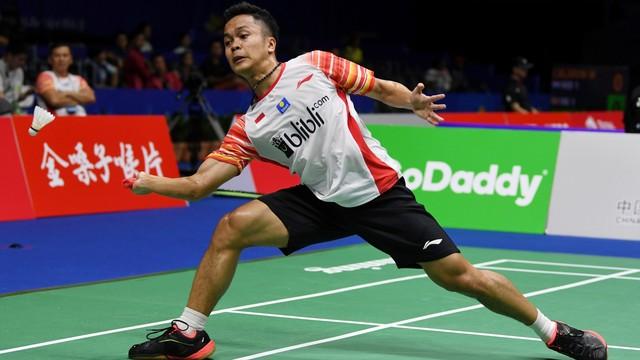 Piala Sudirman 2019, Anthony Sinisuka Ginting
