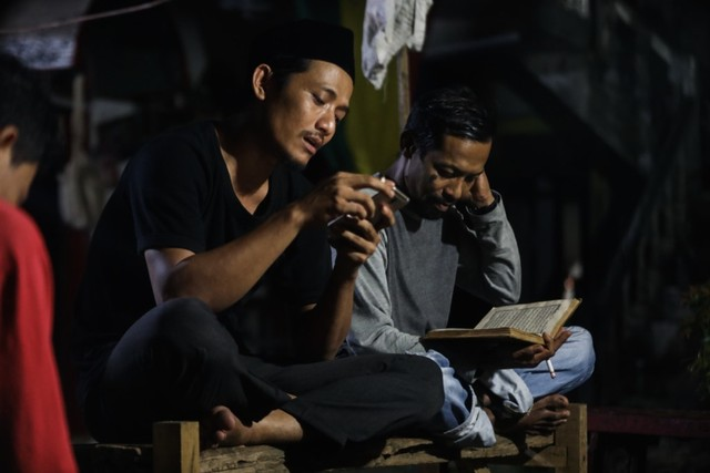 Mendaras Alquran ala Seniman Komunitas Kanot Bu di Aceh (649457)