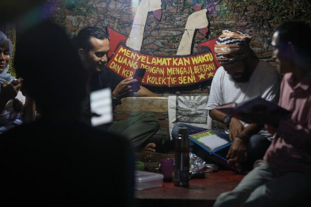 Mendaras Alquran ala Seniman Komunitas Kanot Bu di Aceh (649458)