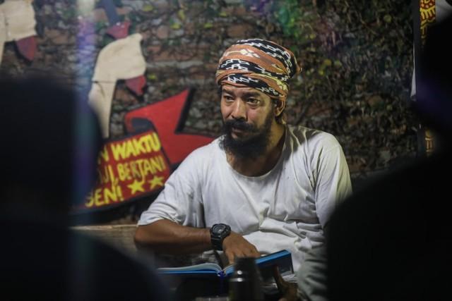 Mendaras Alquran ala Seniman Komunitas Kanot Bu di Aceh (67641)