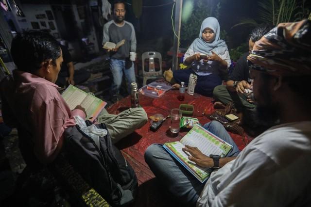 Mendaras Alquran ala Seniman Komunitas Kanot Bu di Aceh (649462)