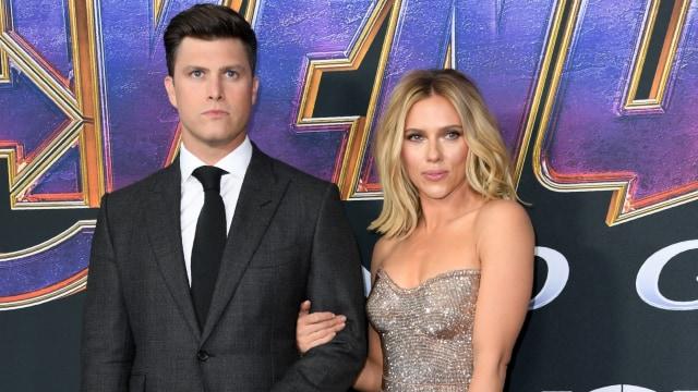 Scarlett Johansson Pamer Cincin Tunangan Berlian Seharga Rp 5,5 Miliar (129799)